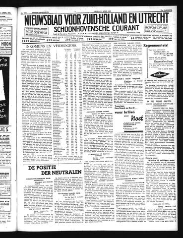 Schoonhovensche Courant 1940-04-05