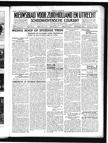 Schoonhovensche Courant 1939-10-04