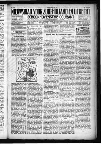 Schoonhovensche Courant 1930-05-21