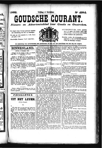 Goudsche Courant 1892-11-04