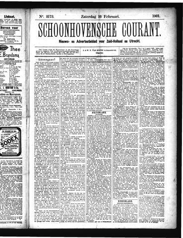 Schoonhovensche Courant 1901-02-16