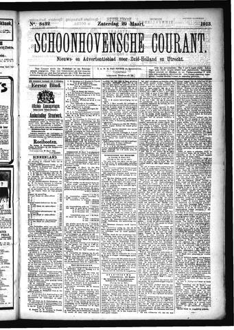 Schoonhovensche Courant 1913-03-29