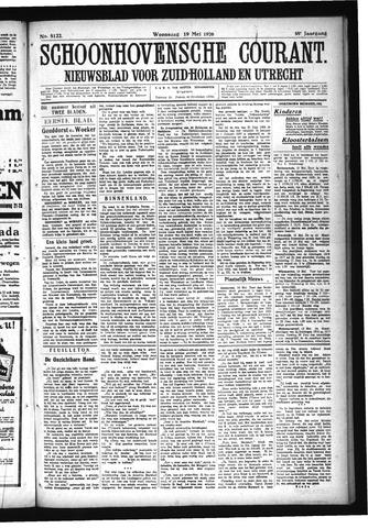 Schoonhovensche Courant 1926-05-19