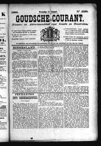 Goudsche Courant 1890-01-15