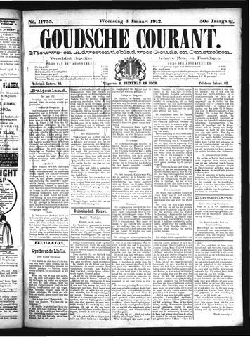 Goudsche Courant 1912-01-03