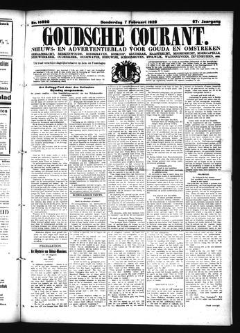 Goudsche Courant 1929-02-07