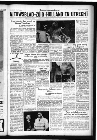 Schoonhovensche Courant 1960-02-19