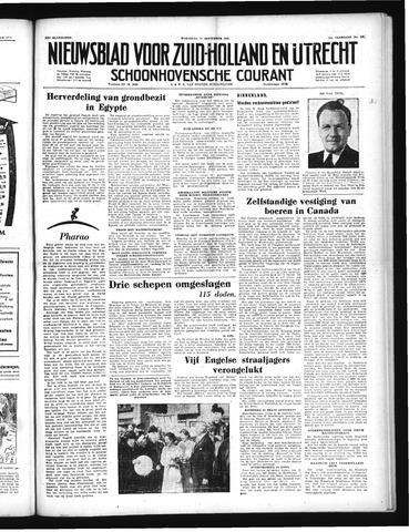 Schoonhovensche Courant 1952-09-10