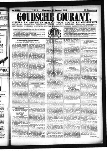 Goudsche Courant 1930-01-22