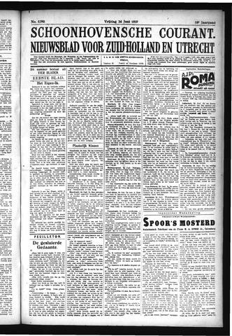 Schoonhovensche Courant 1927-06-24