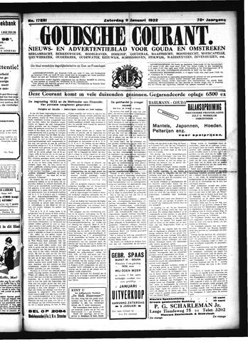 Goudsche Courant 1932-01-09