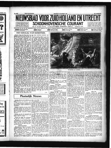 Schoonhovensche Courant 1934-12-24