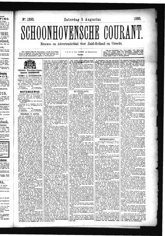 Schoonhovensche Courant 1893-08-05