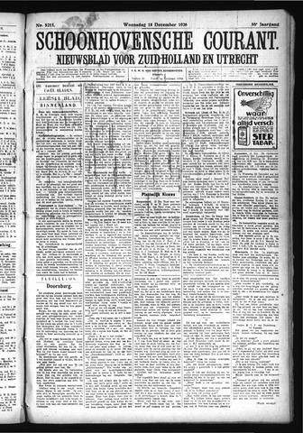 Schoonhovensche Courant 1926-12-15