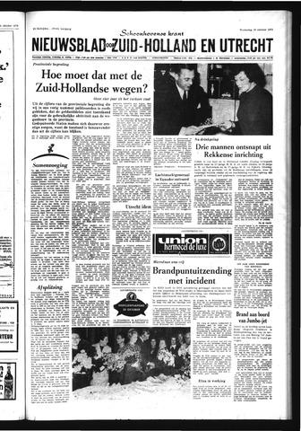 Schoonhovensche Courant 1970-10-28