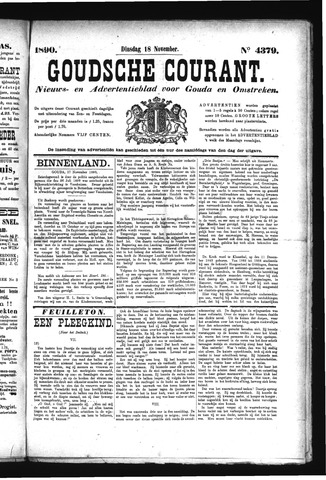 Goudsche Courant 1890-11-18