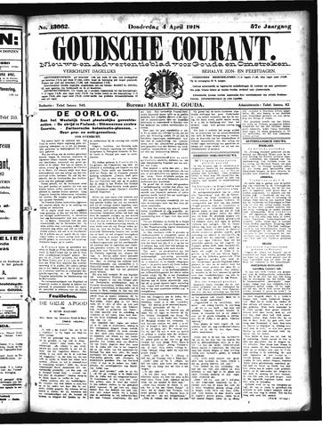 Goudsche Courant 1918-04-04
