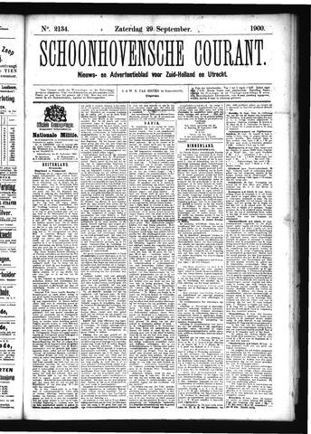 Schoonhovensche Courant 1900-09-29