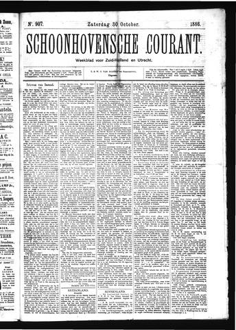 Schoonhovensche Courant 1886-10-30