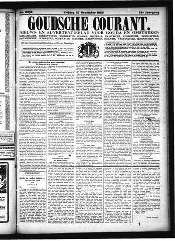 Goudsche Courant 1925-11-27