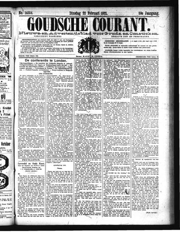 Goudsche Courant 1921-02-22