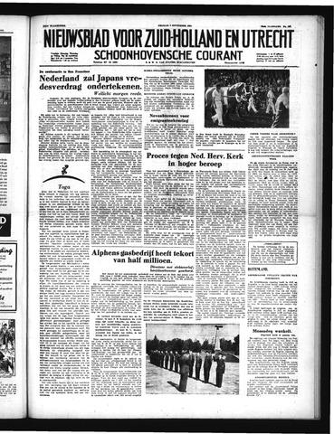 Schoonhovensche Courant 1951-09-07