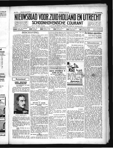 Schoonhovensche Courant 1937-05-19