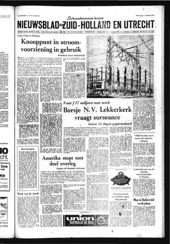 Schoonhovensche Courant 1970-10-07