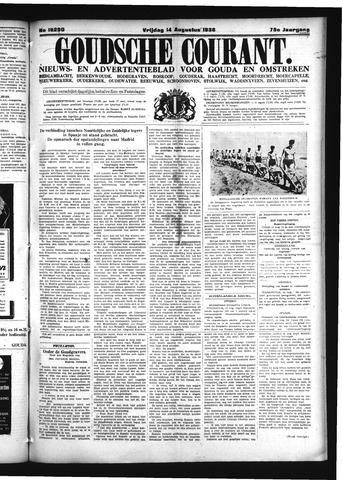 Goudsche Courant 1936-08-14