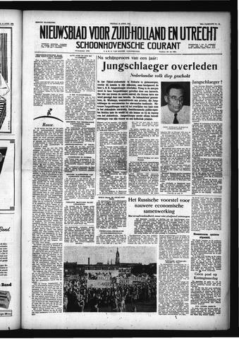 Schoonhovensche Courant 1956-04-20