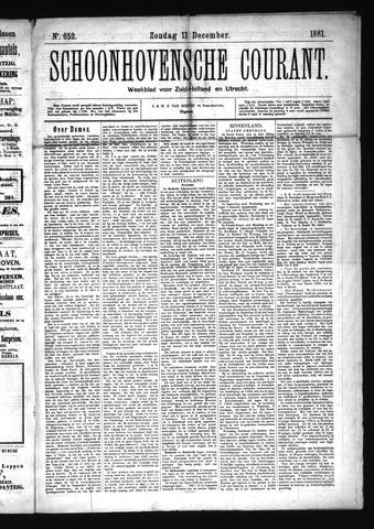 Schoonhovensche Courant 1881-12-11