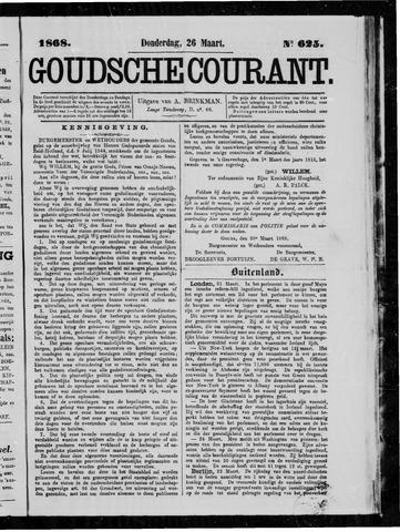 Goudsche Courant 1868-03-26