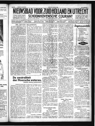 Schoonhovensche Courant 1940-03-29