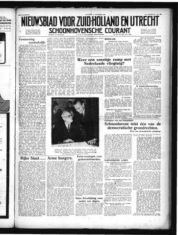 Schoonhovensche Courant 1949-11-21