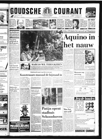 Goudsche Courant 1987-08-28