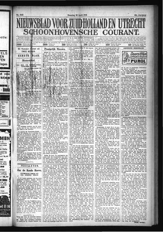 Schoonhovensche Courant 1928-04-30