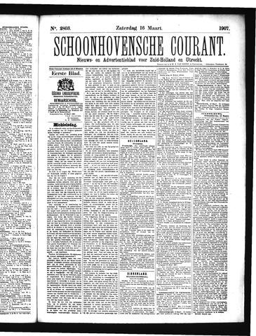 Schoonhovensche Courant 1907-03-16