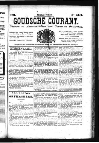 Goudsche Courant 1891-10-03