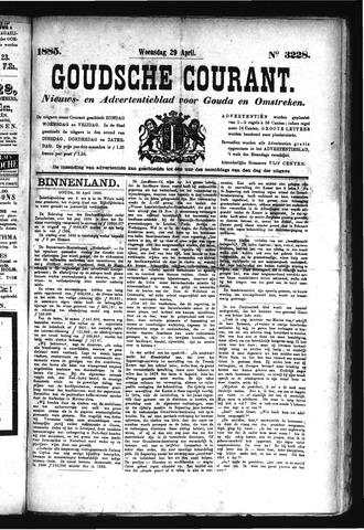 Goudsche Courant 1885-04-29
