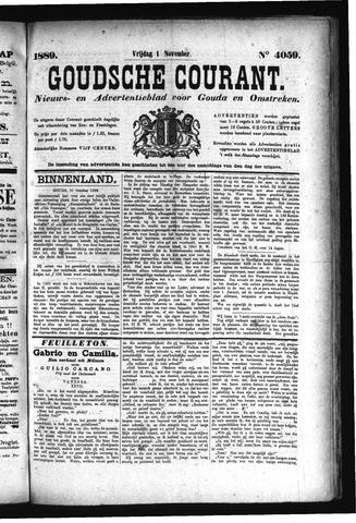 Goudsche Courant 1889-11-01