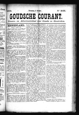 Goudsche Courant 1884-10-08