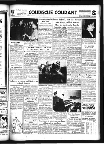 Goudsche Courant 1954-12-20