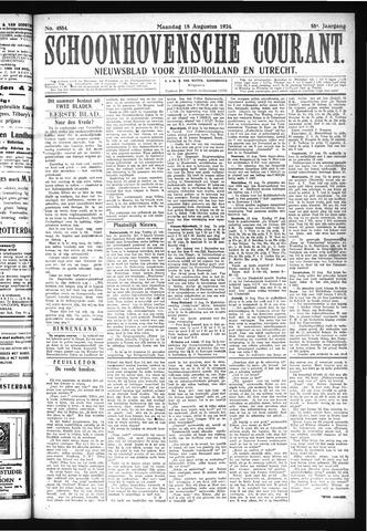 Schoonhovensche Courant 1924-08-18