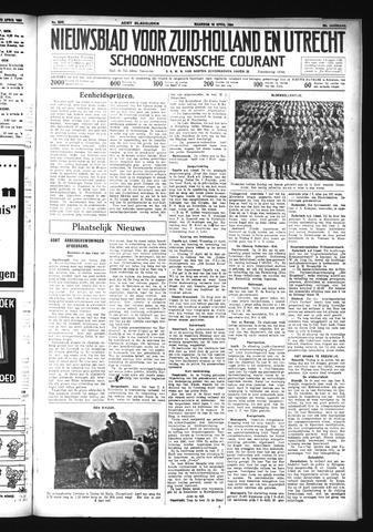 Schoonhovensche Courant 1934-04-16