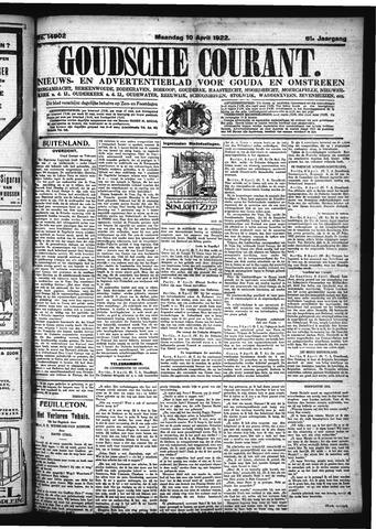 Goudsche Courant 1922-04-10