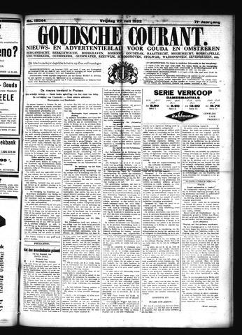 Goudsche Courant 1932-07-22