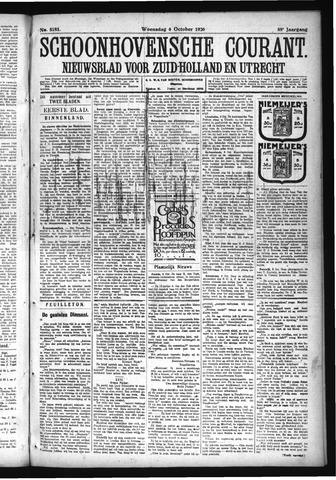 Schoonhovensche Courant 1926-10-06
