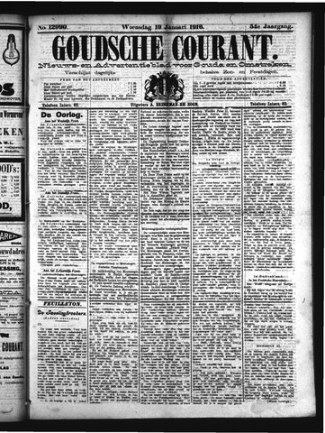 Goudsche Courant 1916-01-19