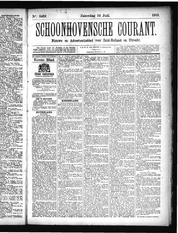 Schoonhovensche Courant 1913-07-12
