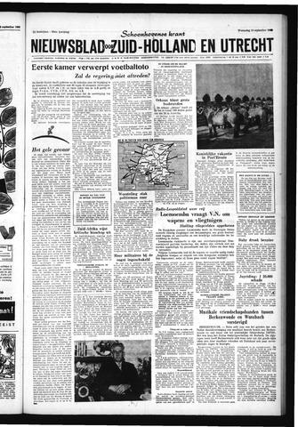 Schoonhovensche Courant 1960-09-14